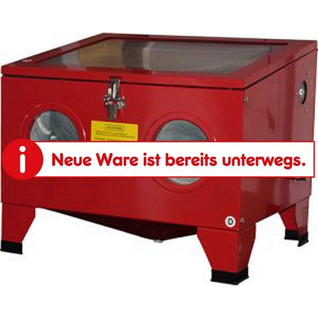 Mauk Sandstrahlkabine zur Werkbankmontage 58,5x 48,5 x 49,4 78Liter Arbeitsbereich! - Bild 1