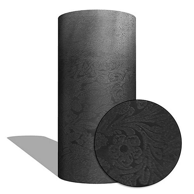 "MAUK Carbon Folie Auto- Küchen- Deko- Folie ""3D flower textrue vinyl black"" - Bild 1"