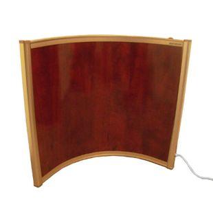 Mauk Infrarot Heizkörper Bild Heizung 250 Watt selbst-stehend halbrund - Bild 1