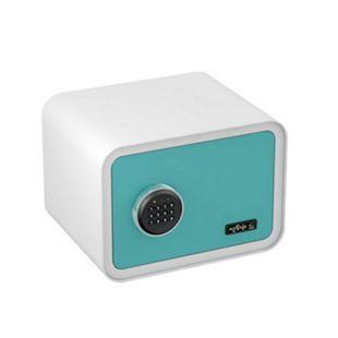 BASI Elektronik-Möbel-Tresor mySafe 350 Code, blau-weiß - Bild 1
