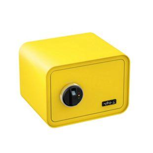 BASI Elektronik-Möbel-Tresor mySafe 350 Fingerprint, zitronengelb - Bild 1