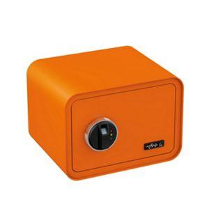 BASI Elektronik-Möbel-Tresor mySafe 350 Fingerprint, orange - Bild 1
