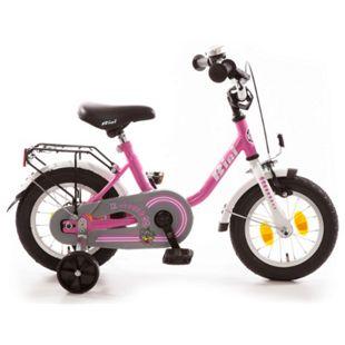 """Bachtenkirch Kinderfahrrad """"BiBi"""" pink/weiß 12,5"""" - Bild 1"""