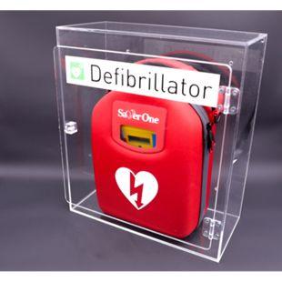 SAVER ONE - Plexiglaswandkasten für alle Defibrillator - Bild 1
