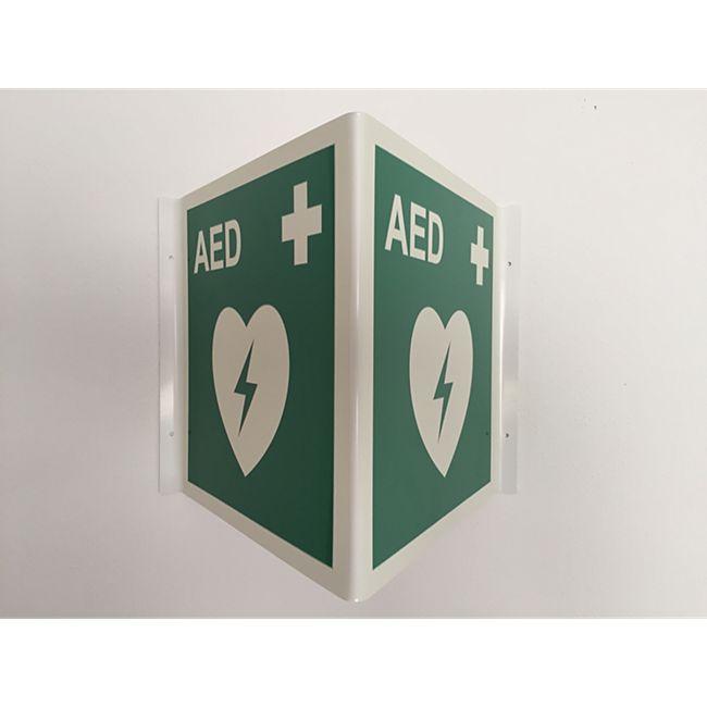 SAVER ONE AED - Standortwinkel, nachtleuchtend nach BGV 8A - Bild 1