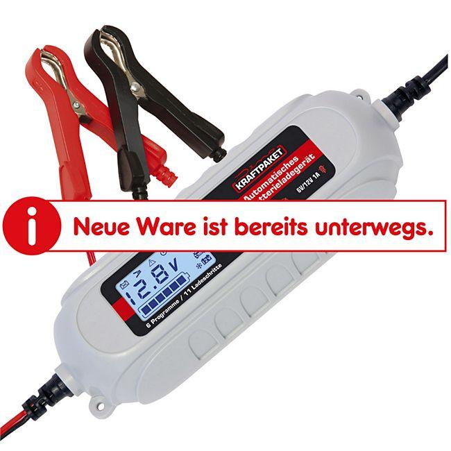 Dino KRAFTPAKET 136311 6/12 V 4 A Batterieladegerät - Bild 1