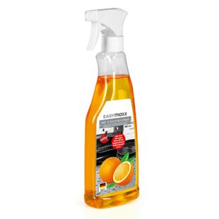 EASYmaxx Grill- & Backofenreiniger Orange 500ml inkl. Schwamm - Bild 1