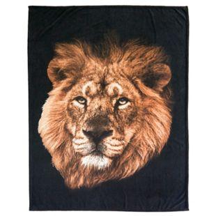 Dekor Wohndecke mit Tiermotiv - Löwe