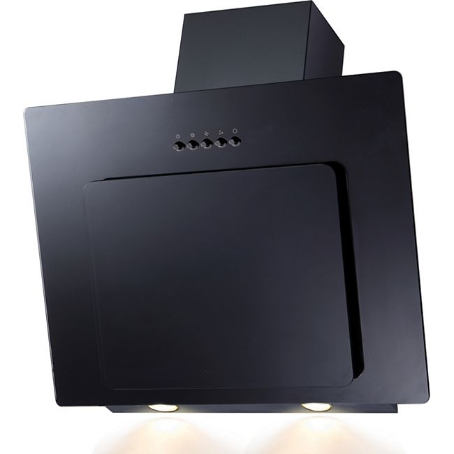 PKM Dunstabzugshaube 9039X, 303m³,LED  Kopffreihaube schwarz 60 cm - Bild 1