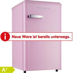 Wolkenstein Kühlschrank KS95RT SP Pink glänzend 87 cm - Bild 1