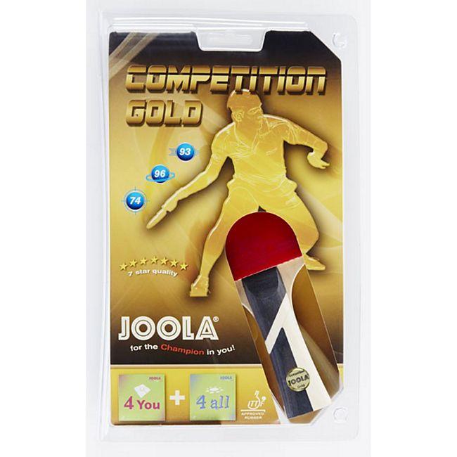 JOOLA Tischtennisschläger Competition Gold - Bild 1