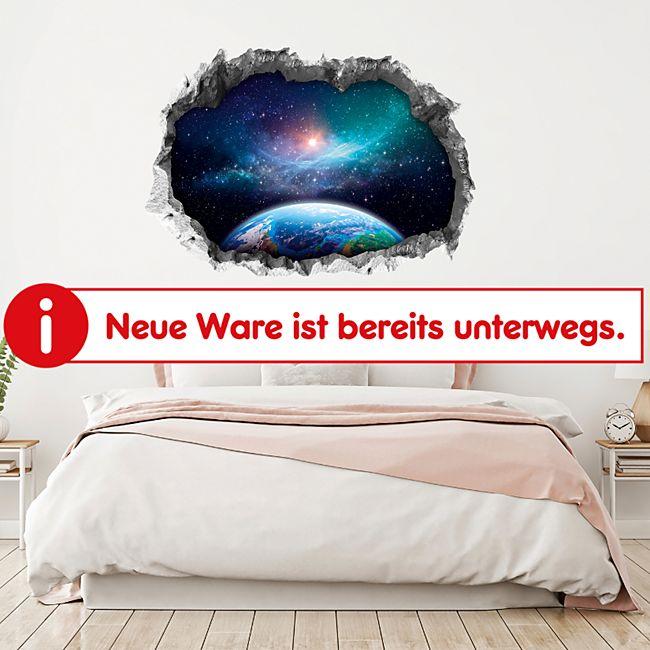 Wandtattoo 3D Galaxy mehrfarbig - Bild 1