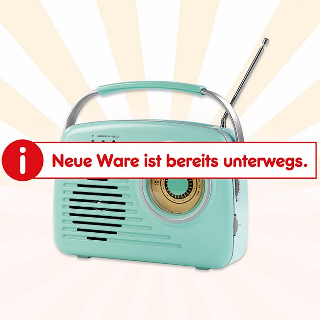 EASYmaxx Radio Retro 6V mint - Bild 1
