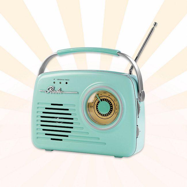 EASYmaxx Radio Retro 6V versch. Farben - Bild 1