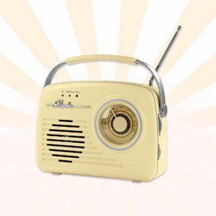 EASYmaxx Radio Retro &V vanille - Bild 1