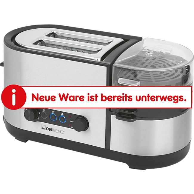 Clatronic TAM 3688 Multifunktions-Toaster 5 in 1 - Bild 1