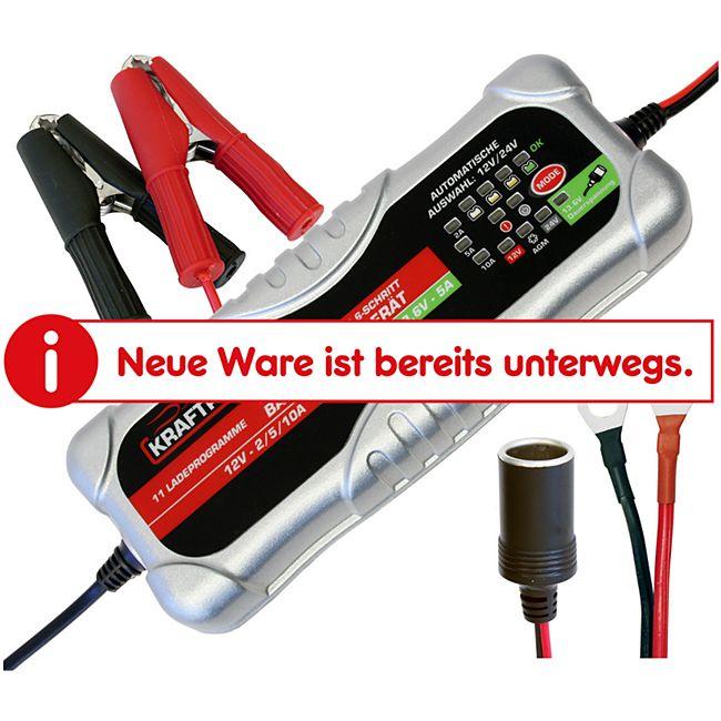 Dino KRAFTPAKET 136302 12/24 V 10 A Batterieladegerät - Bild 1