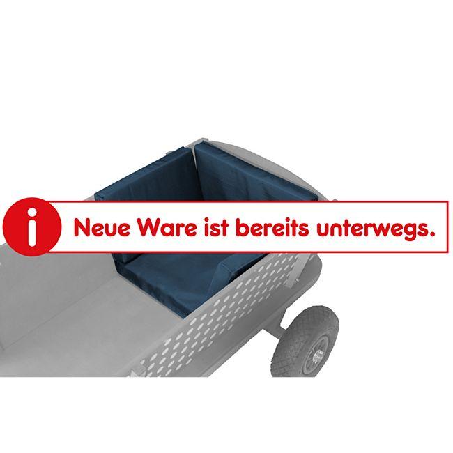 Beachtrekker Style Sitzkissen für Holzbollerwagen, Blau - Bild 1
