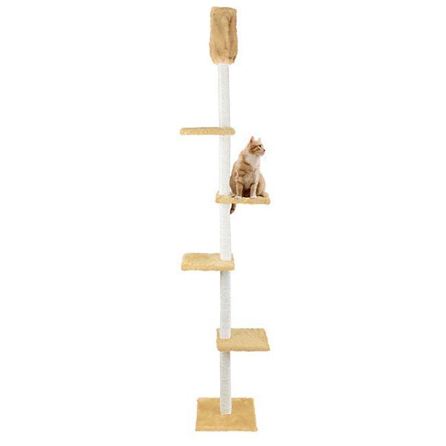 CAT DREAM Kratzbaum raumhoch beige - Bild 1