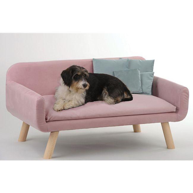 Silvio Design Hundesofa Cora rosa - Bild 1