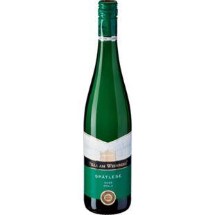 Villa am Weinberg Spätlese weiß Prädikatswein Pfalz 9,5 % vol 0,75 Liter - Bild 1