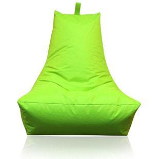 KINZLER Sitzsack Lounge-Sessel, apfelgrün (Outdoorfähig) - Bild 1
