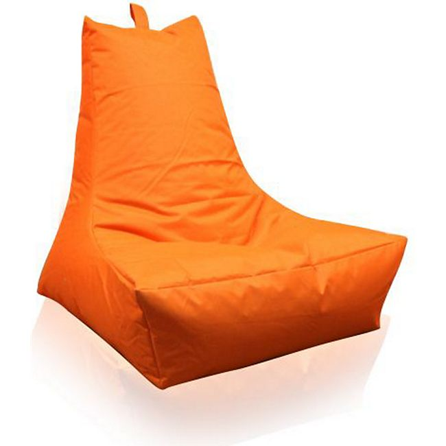 KINZLER Sitzsack Lounge-Sessel, orange (Outdoorfähig) - Bild 1