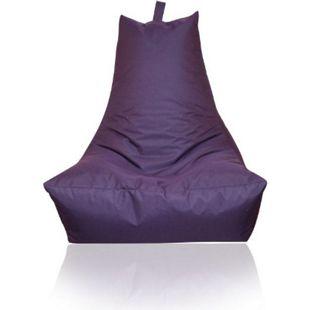 KINZLER Sitzsack Lounge-Sessel, brombeere (Outdoorfähig) - Bild 1