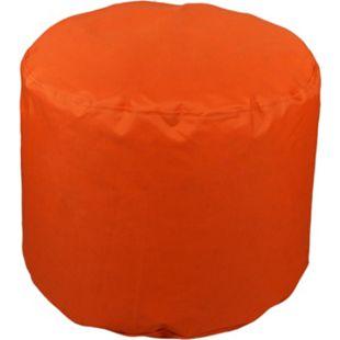 KINZLER Hocker rund, Outdoorfähig, Orange - Bild 1
