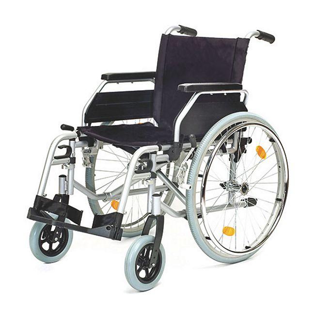 Servomobil Rollstuhl aus Stahl, Sitzbreite 43-45 cm - Bild 1