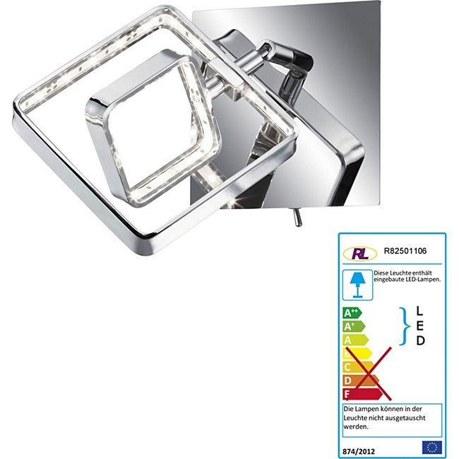 Reality Trio LED Wandleuchte RL156, Spot Strahler Wandlampe, inkl. LEDs EEK A+ 4,5W - Bild 1