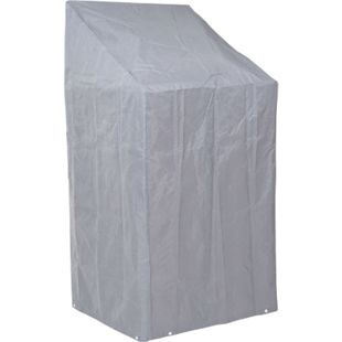 Abdeckhaube Abdeckplane Schutzhülle Schutzplane für Stühle, 150/110x70x70cm grau - Bild 1