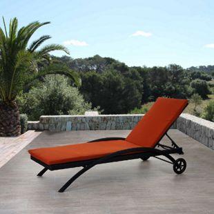 Sonnenliege Florina, Relaxliege Gartenliege - Bild 1