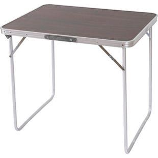 Campingtisch H367, Klapptisch Gartentisch Koffertisch ~ 80x70x60cm - Bild 1