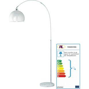 Reality Trio Bogenlampe Stehleuchte Höhe: 150 - 210cm Schirm: 30cm - Bild 1