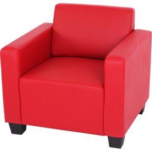 Sessel Moncalieri ~ rot - Bild 1