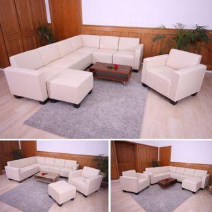 Couch-Garnitur Moncalieri 6-2 ~ creme - Bild 1