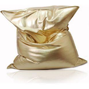"""KINZLER Riesen-Sitzsack """"Nugget"""", gold - Bild 1"""