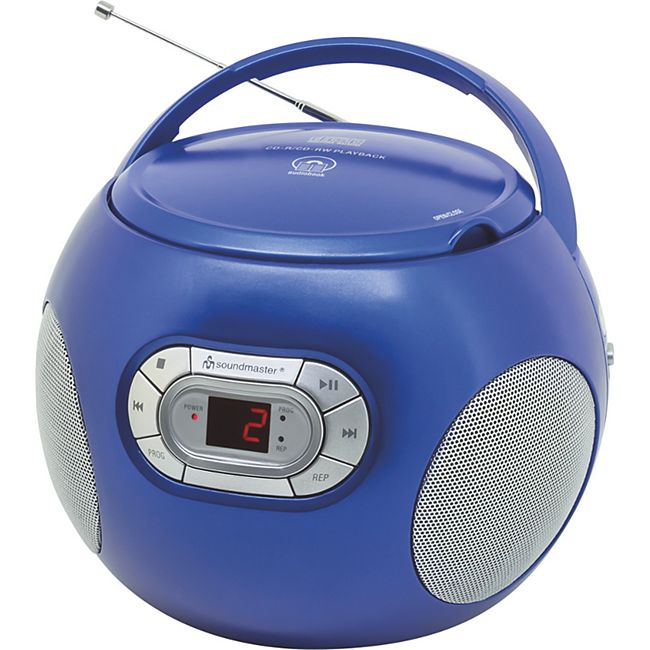 Soundmaster SCD2120BL UKW Radio CD Boombox - Bild 1