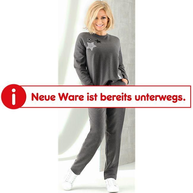 Damen Oversize Sweater - Anthrazit melange, Gr. S - Bild 1