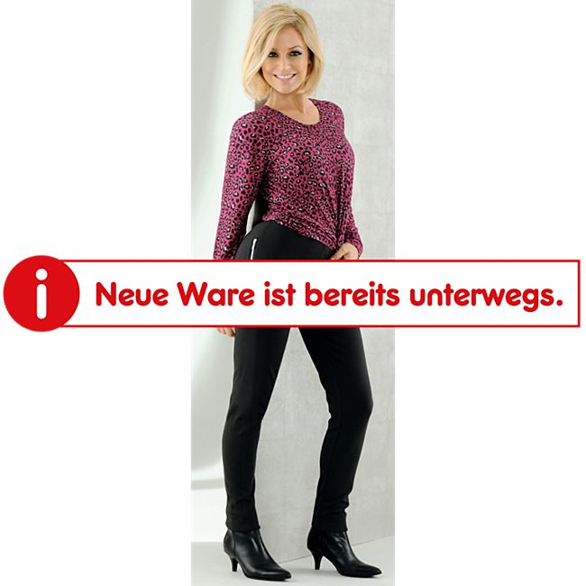 Damen Stretchhose - Schwarz, Gr. S - Bild 1