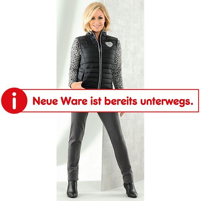 Damen Steppweste - Schwarz, Gr. XL - Bild 1