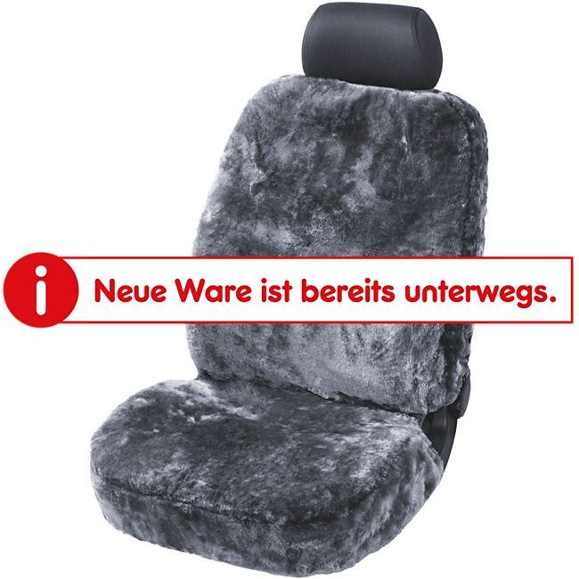 Lammfell Sitzbezug - Anthrazit - Bild 1