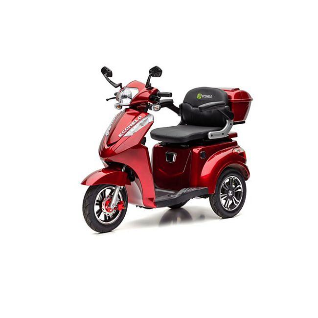 ECONELO S 1000 Elektro-Dreirad, rot - Bild 1