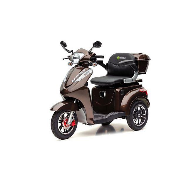 ECONELO S 1000 Elektro-Dreirad, braun - Bild 1