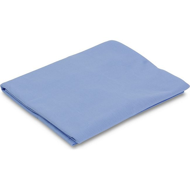 MSS Trikotbezug 100% Polyester 90g/m² blau  - 90 x 190 x 12 cm - Bild 1