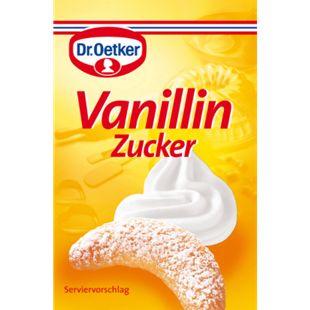 Dr. Oetker Vanillin-Zucker 80 g für 10 x 500 g Mehl - Bild 1