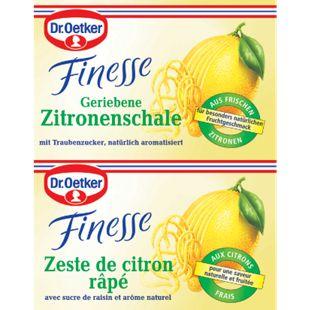 Dr. Oetker Geriebene Zitronenschale 2 x 6 g - Bild 1