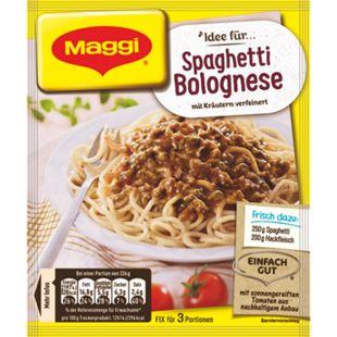 Maggi Fix Spaghetti Bolognese 38 g - Bild 1