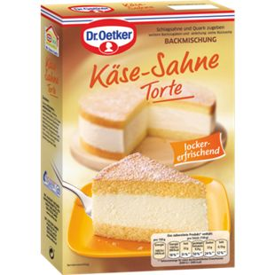 Dr. Oetker Backmischung Käse-Sahne-Torte 385 g - Bild 1